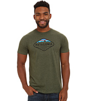 Patagonia - Fitz Roy Crest Cotton/Poly T-Shirt