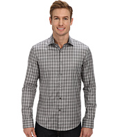 Kenneth Cole Sportswear - L/S Yarn Dye Melange Check Shirt