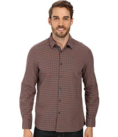 Kenneth Cole Sportswear - L/S Iridescent Check w/ Elbow Patches