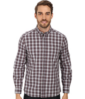 Kenneth Cole Sportswear - L/S Button-Down Collar One-Pocket Shirt