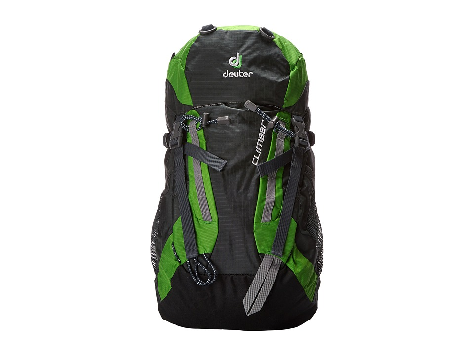Deuter Climber Anthracite Youth Anthracite/Spring Backpack Bags