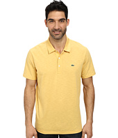 Lacoste - Slubbed Jersey Polo w/ Self Collar/Open Sleeve
