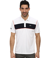 Lacoste - Sport Pique Ultra Dry Chest Stripe Polo
