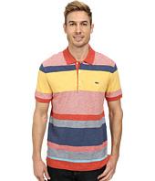 Lacoste - Slubbed Jersey Bold Stripe Polo