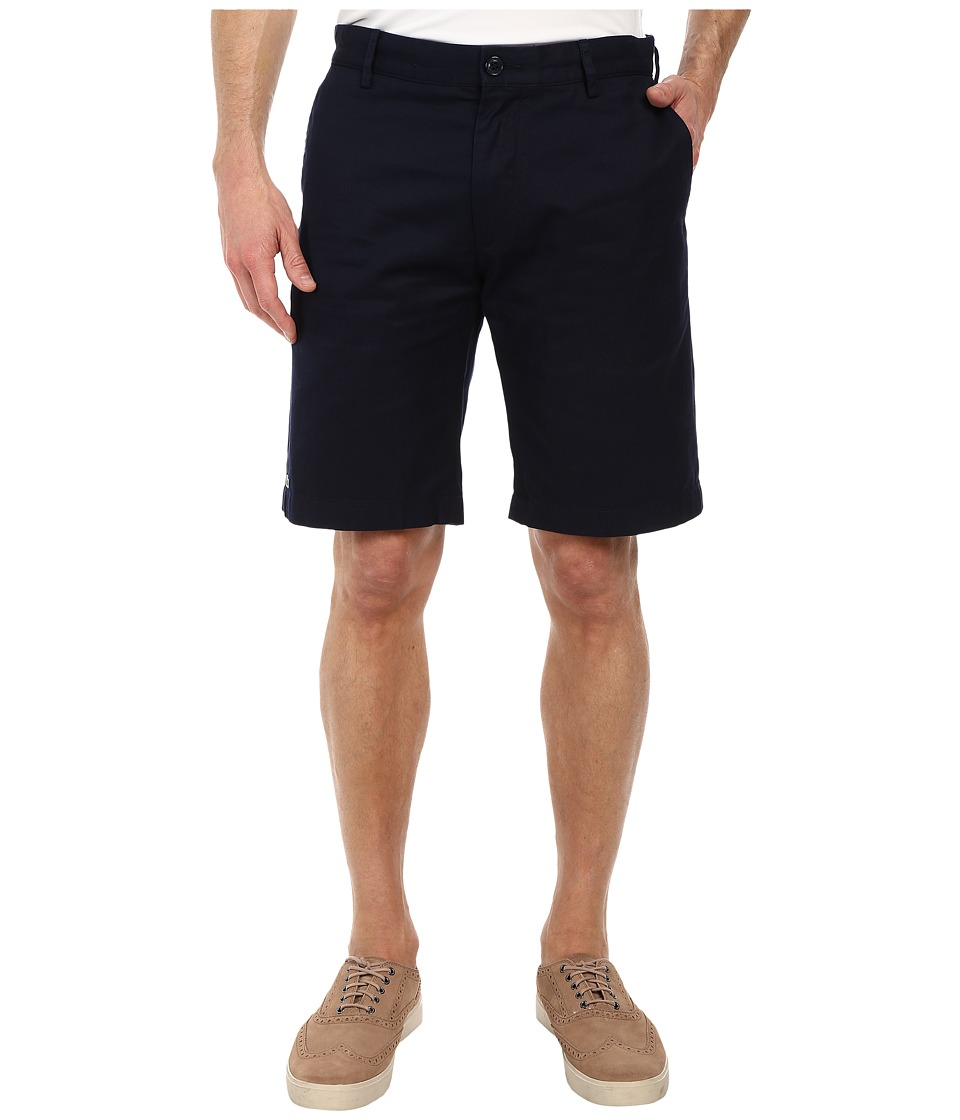Lacoste Classic Fit Bermuda Short 10 (Navy Blue) Men