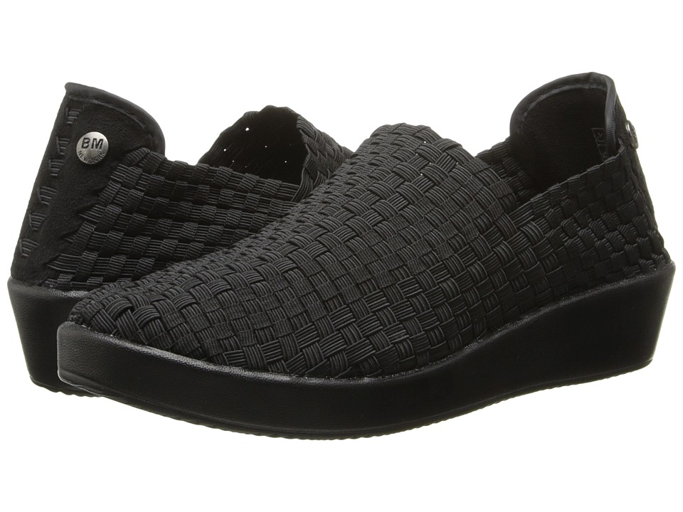 bernie mev. - Smooth Cha Cha (Black) Womens  Shoes