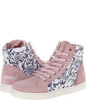 Armani Junior - All Over Floral/Pink High Top (Little Kid/Big Kid)