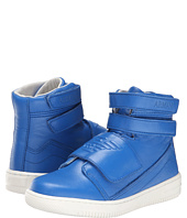 Armani Junior - Velcro High Top in Royal Blue (Little Kid/Big Kid)