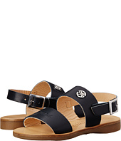 Armani Junior - Double Strap Leather Sandal (Toddler/Little Kid)