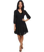 Jessica Simpson - Chiffon Lace Up Fit & Flare Dress JS5E7138