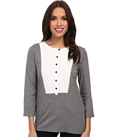 Jones New York - 3/4 Sleeve Split Neck Tunic