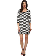 Jessica Simpson - Printed Ponte Shift Dress JS5U6934