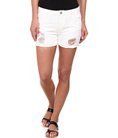 Blank NYC - White Ripped Longer Short in As If