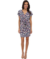Jessica Simpson - Ity Faux Wrap Printed Dress