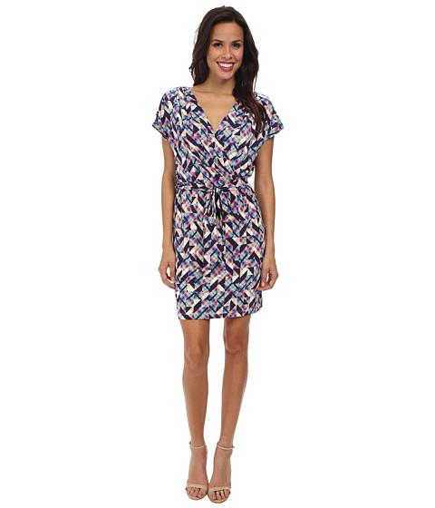 Jessica Simpson - Ity Faux Wrap Printed Dress (Print) Women's Dress