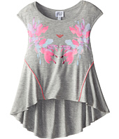Armani Junior - A Line Jersey Top w/ Hot Pink Detail (Big Kids)