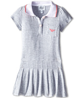 Armani Junior - Tennis Dress w/ Pink Detail (Toddler/Little Kids/Big Kids)