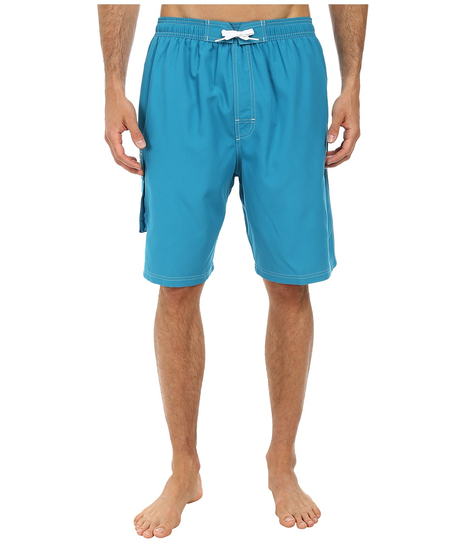 TYR Challenger Trunk Turquoise Mens Swimwear