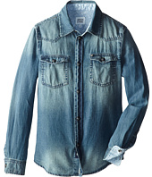 Armani Junior - Denim Button Down Shirt (Toddler/Little Kids/Big Kids)