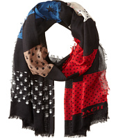 COACH - Patchwork Oblong Scarf