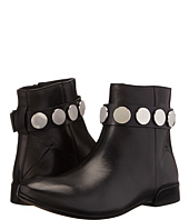 CoSTUME NATIONAL - Flat Bootie w/ Stud Ankle Strap