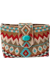 Mary Frances - Turquoise Power Mini Handbag
