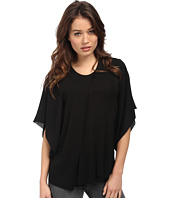 CoSTUME NATIONAL - Viscose Jersey Dolman Sleeve Top