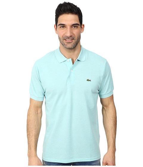 Lacoste Ribbed Collar Mens Polo