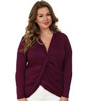 Kiyonna - Twisted Pullover Bellini