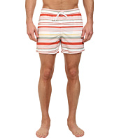 Lacoste - Poplin Horizontal Stripe Swim Short 5