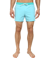 Lacoste - Poplin Color Block Waist Swim Short 5