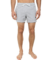 Lacoste - Striped Seersucker Swim Short 5