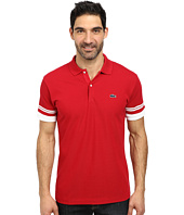 Lacoste - Cotton Pique Semi Fancy Slim Fit Made In France Polo