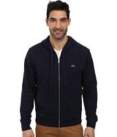 Lacoste - Cotton Full Zip Hooded Sweatshirt