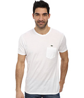 Lacoste - Jersey Super Fine Pima Short Sleeve Crew Neck Tee Shirt with Pocket