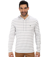 Lacoste - Long Sleeve Hooded Stripe Tee Shirt