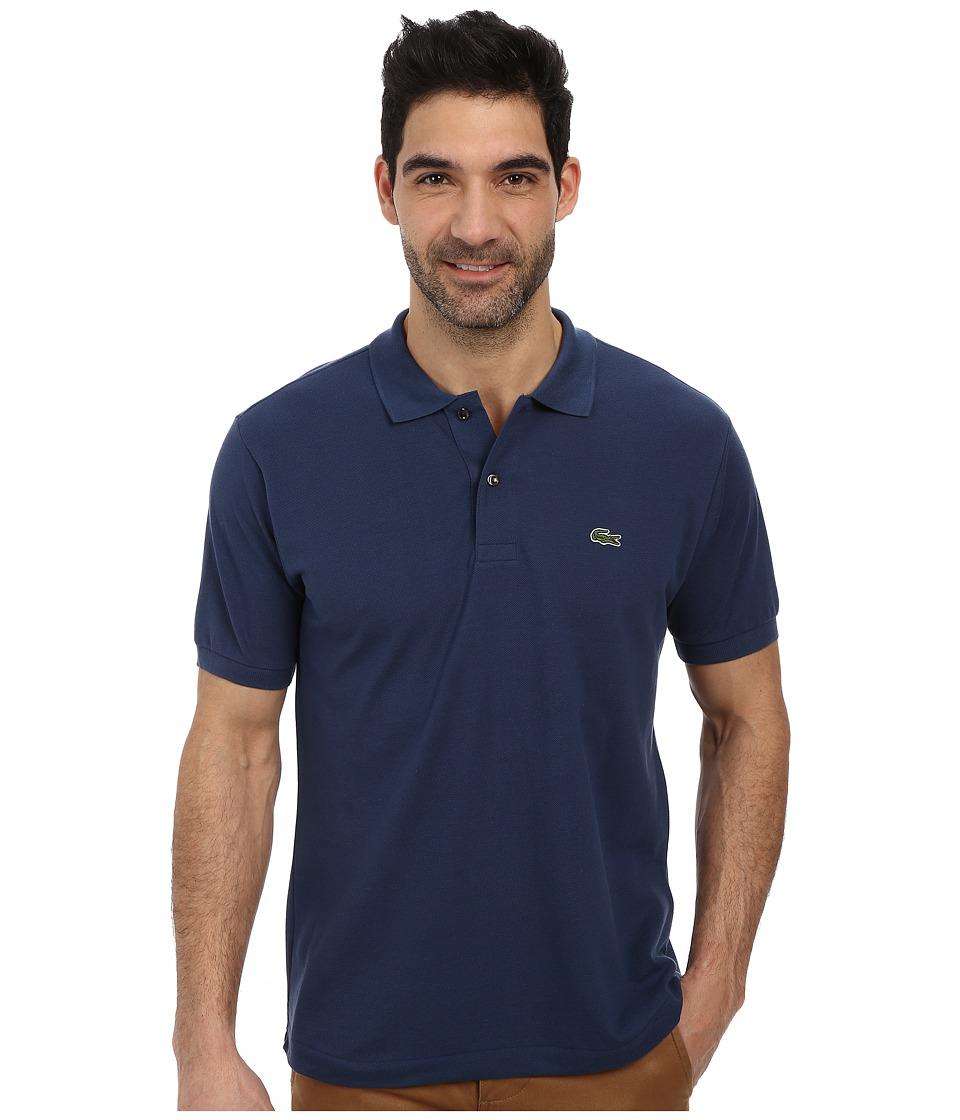 Lacoste - L1212 Classic Pique Polo Shirt (Philippines Blue) Men