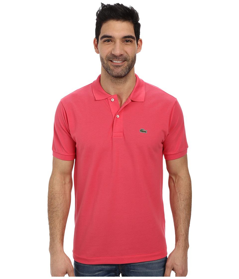 Lacoste - L1212 Classic Pique Polo Shirt (Dahlia Pink) Men