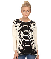 kensie - Reflected Deco Sweatshirt KS3K3493