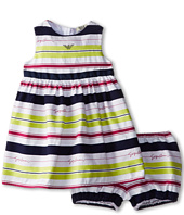 Armani Junior - Giorgio Dress w/ Bloomer (Infant)