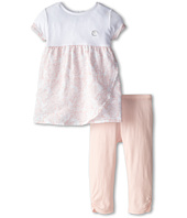 Armani Junior - Floral Tunic in Pink w/ Legging (Infant)
