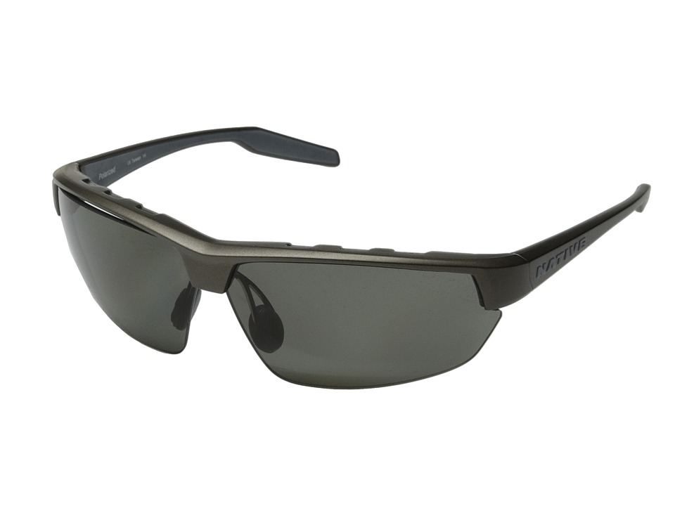 Native Eyewear Hardtop Ultra (Charcoal/Gray) Sport Sunglasses