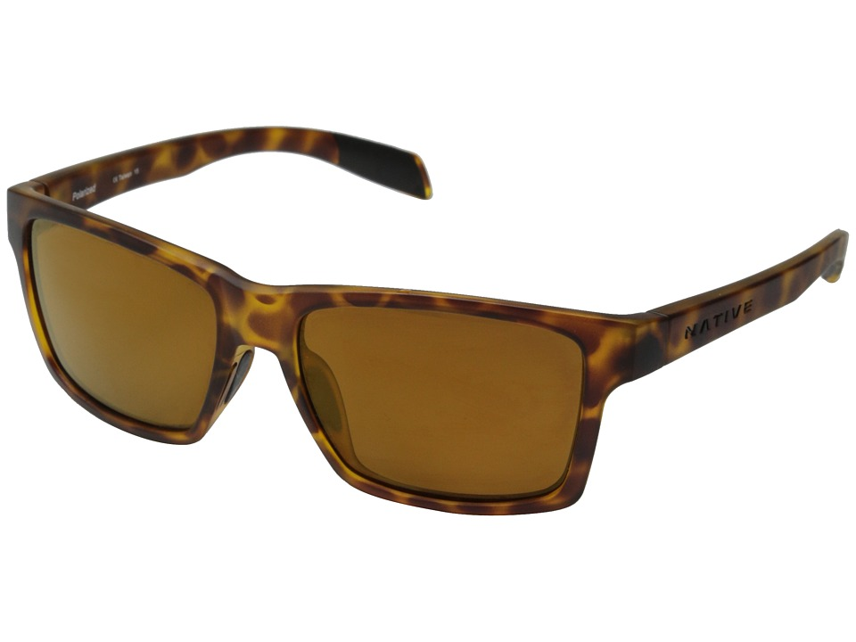 Native Eyewear Flatirons (Tigers Eye/Bronze Reflex) Sport Sunglasses