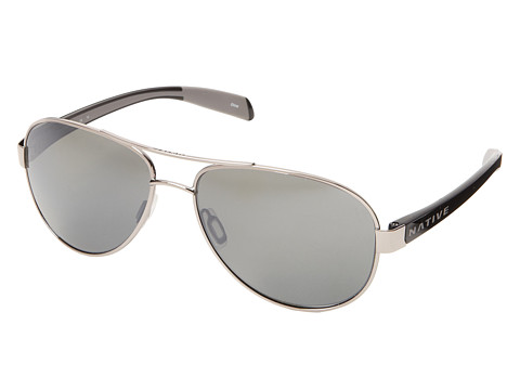 Native Eyewear Patroller - Chrome/Iron/Silver Reflex