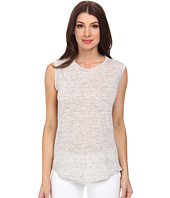Michael Stars - Linen Knit High-Low Muscle Tank Top