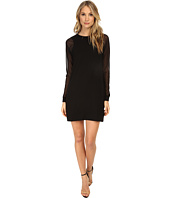 Michael Stars - Elevated French Terry L/S Crew Neck Dress