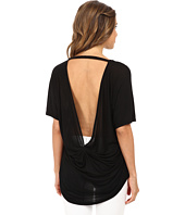 Michael Stars - Micro Modal Jersey Short Sleeve Scoop Neck High-Low Top