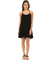 Michael Stars - Modern Rayon Spaghetti Strap Cross Back Dress