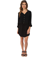 Michael Stars - Modern Rayon Three-Quarter Sleeve Shirt Dress