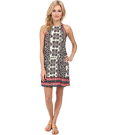 Michael Stars - Border Print Halter Dress